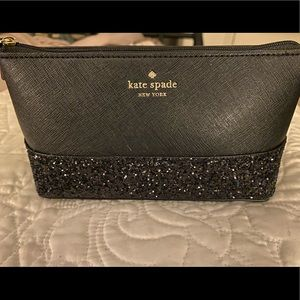 NWT Little Shiloh Greta Court Black Cosmetic Bag